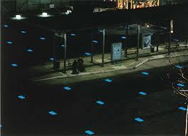 floor led lighting. bus station in nordhausen germany floor led lighting a