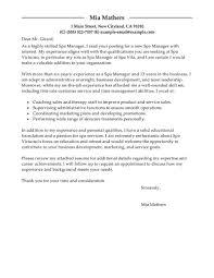 Spa Manager Cover Letter Nardellidesign Com