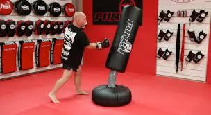 punching bag workout 8 step boxing