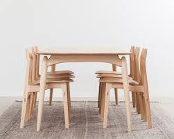 modern times vintage danish and european design furniture corner detail of the lex dining table by