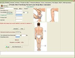 Free Body Fat Calculator Software Buy Skinfold Caliper Product On Alibaba Com