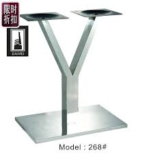 thick table legs stainless steel dining table leg table stand desk long table tripod desk stand thick table legs