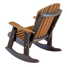 little cottage amish polywood adirondack rocker rocking chairs plans free made poly porch furniture lcc115 back