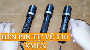 Đèn Pin Tự Vệ Chích Điện T10 Xmen Loại 1 - Form Công Nghệ