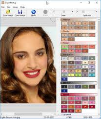 digimakeup is yet another free makeup photo editor software it provides a set of editing tools at the right panel of its interface