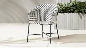 brava outdoor wicker dining chair