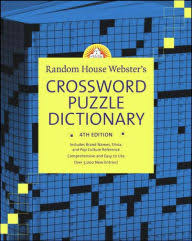 random house webster s crossword puzzle dictionary