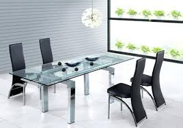 modern glass kitchen table. Unique Kitchen Modern Glass Dining Table Room Tables Extraordinary  Decor Marvelous  And Modern Glass Kitchen Table R