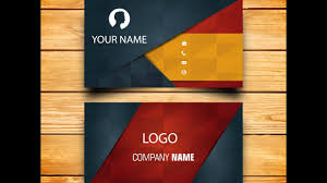 Make Your Own Business Card Design Creative Business Card Design How To Make Your Own Business Card In Modern Way By Using Illustrator