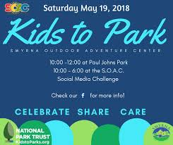 join the s o a c staff at on may 19 to celebrate care and share about our local parks we will be having a social media challenge stem activities