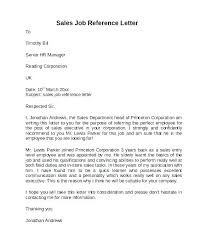 Reference Letter Sample Employment Employee Reference Letter