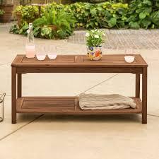 dark brown patio coffee table midland