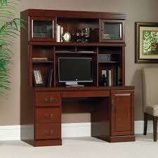 home office computer desk hutch. Computer Desk Hutch Classic Cherry Home Office Study Table Workstation Furniture