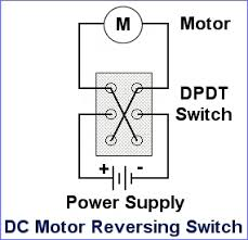 dc motor reversing switch dc motor polarity reversing switch wiring diagram