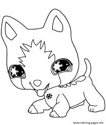 Littlest Pet Shop Dog Coloring Pages Printable