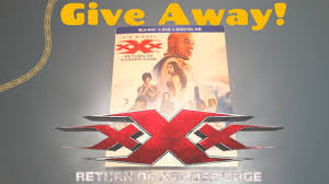 Give Away xXx Return of Thunger Cage Bluray Unboxing YouTube