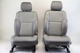 side gray leather oem extreme auto parts