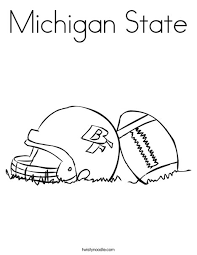 Small Picture Michigan Coloring Pages Miakenasnet