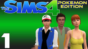Let's Play The Sims 4: Pokemon Edition - Ep.1 - The Adventures Of Ash,  Brock, & Misty! - YouTube