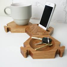 phone holder with a range of compartments