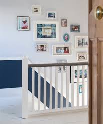 wall display ideas staircase
