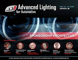 Advanced Lighting For Automotive Advanced Lighting For Automotive 2018 Sponsorship Prospectus