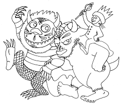 Small Picture Where The Wild Things Are Coloring P Photo Album For Website Where
