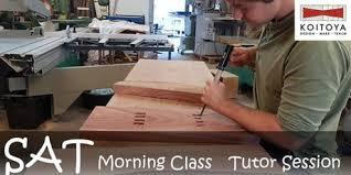 japanese woodworking workshop. saturday morning tutor session - 2018 term 1: koitoya japanese woodwork class tickets woodworking workshop