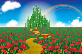 Wizard Of Oz Party Decorations Printable Wizard Of Oz Backdrop Instant Download 6ft X 4ft