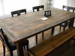 Large Farmhouse Kitchen Table Bench Farmhouse Kitchen Table With Bench With Regard To