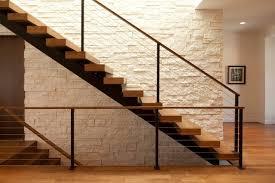 Linden Hills Contemporary modern-staircase