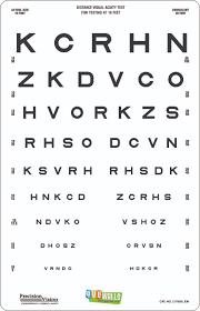 eyewalls l stick sloan letters linear ed translucent distance chart