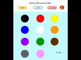 Learning Game For Kids Find The Color Youtube