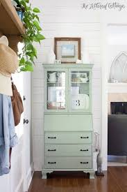 popular painted furniture colors. Secretary Painted With Coastal Plain By Sherwin Williams   Gorgeous Color! The Lettered Cottage Popular Furniture Colors K