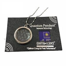 2x powerful quantum bio disc scalar energy pendant 100 300cc stainless steel necklace