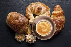 Image result for coffee and croissant