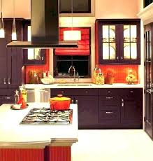 red tile backsplash red tile kitchen with l and stick marvelous kitchens accent red tiles red brown glass tile backsplash