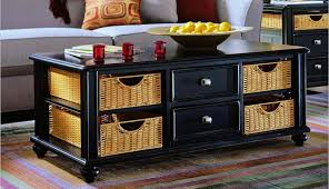 best coffee table with wicker basket storage rascalartsnyc regard to interesting baskets 14
