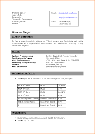 headline for freshers example personal Resume Writing For Mca Freshers .