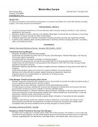 Housing Officer Sample Resume Valuable Dependency Case Manager Resume Housing Officer Sample 2