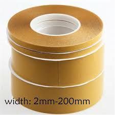 Super Thin <b>Double</b>-<b>Sided Adhesive Tape</b> Transparent High ...