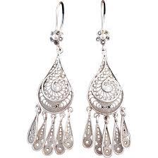 full size of engaging large sterling silver chandelier earrings filigree earring findings archived on lighting