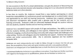 What Is A Strong Example Of A Recommendation Letter For A