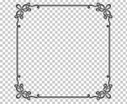 Frame For Word Borders And Frames Microsoft Word Png Clipart Area Black