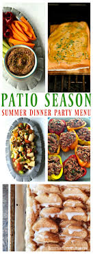 Patio Season with Q Squared NYC - Summer Dinner Party MENU |  ReluctantEntertainer.com