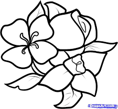 Small Picture The 25 best Easy flower drawings ideas on Pinterest Flower