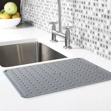 kitchen sink mats rubber silicone dish drainer kitchen drying racks ikea drainer full