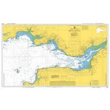 Admiralty Chart 5047 Bristol Channel Instructional Chart