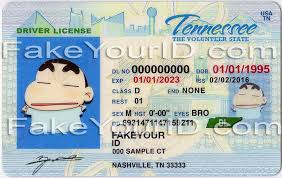 Scannable Fake Make We Tennessee Ids Id - Buy Premium