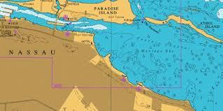 Eastern Approaches To Nassau Marine Chart Cb_gb_1452_1